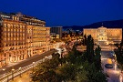The King George Palace hotel in Athens.