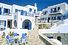 Petinos Beach Hotel, on Platis Yialos beach, Mykonos.  Cat A'