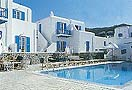 The Princess of Mykonos Hotel, on Agios Stefanos beach, Mykonos.  Cat A'