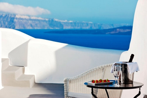 Pictures of canaves oia hotel santorini greece for Balcony thesaurus