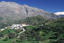 Crete mountain village