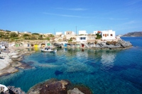Goupa is a small picturesque fishing village in Kimolos
