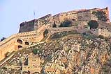 The castle in the city of Nafplion