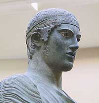 A Charioteer at the Delphi Museum