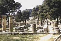 The archeological site of Olympia