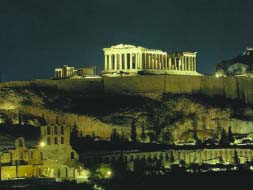 tour of Athens and Piraeus with a Folklore Show and Dinner