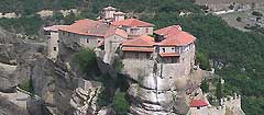 Meteora from above